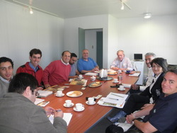 Meeting with Chilian growers in CurIco (CHILE). 9/3/2010
