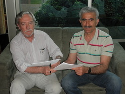 CONTRACT BETWEEN 'AGROHARA'  AND ' CVCHILE'   IN CHILE .11/3/2010