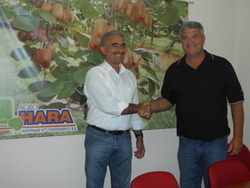 COOPERATION AGREEMENT BETWEEN AGROHARA AND MR JERRY KLIEWER CONCERNING THE REPRESENTATION OF 'TSECHELIDIS' VARIETY IN USA.