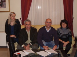 COOPERATION CONTRACT BETWEEN AGROHARA AND KIWIGREENSUN OF PORTUGAL.10/12/2009